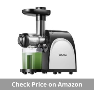 Aicook masticating juicer